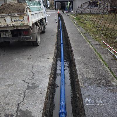 五反田功橋線外1線配水管布設替工事